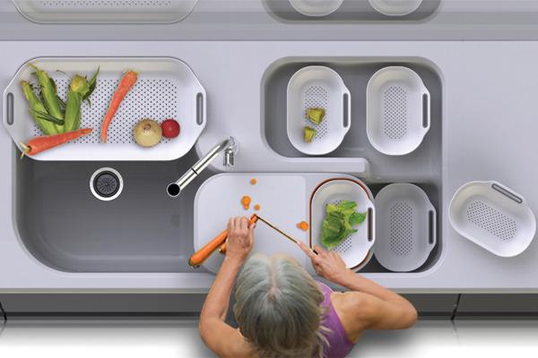 [아이디어가구] 아이디어가 넘치는 주방 도구들 :)