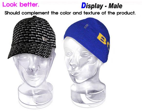 manikin mannequin Makeup Mask Wig hat display model Jewelry cap