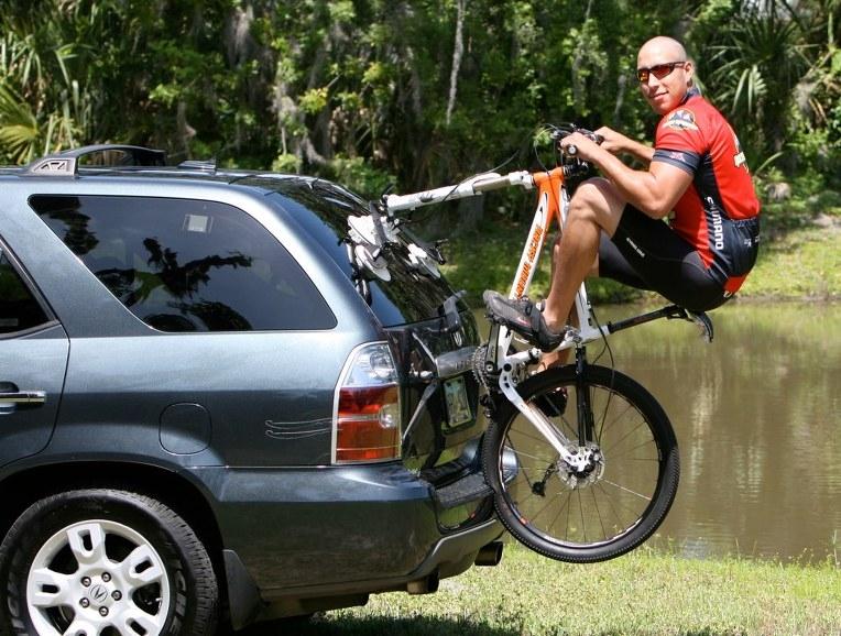 강력한 진공흡착식 자전거 캐리어 씨써커 Seasucker