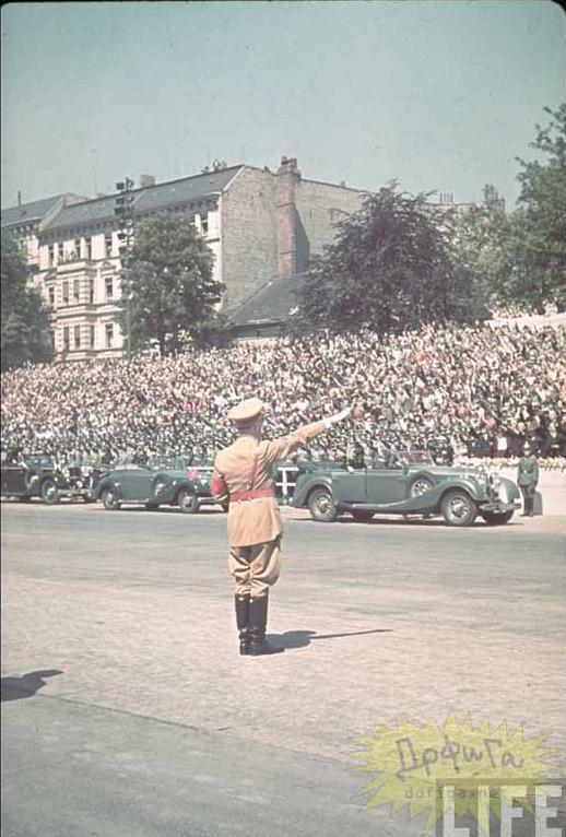 라이프지의 나치제국의 독일과 히틀러