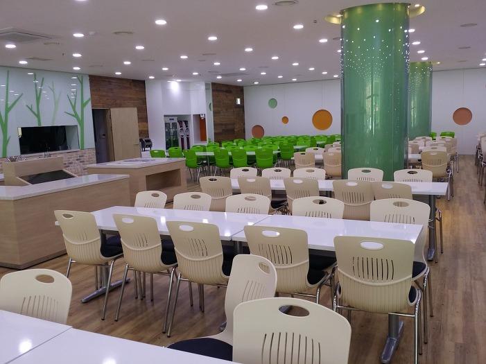 음성 글로벌선진학교 학생 교직원식당가구 학교식당 구내식당 ...