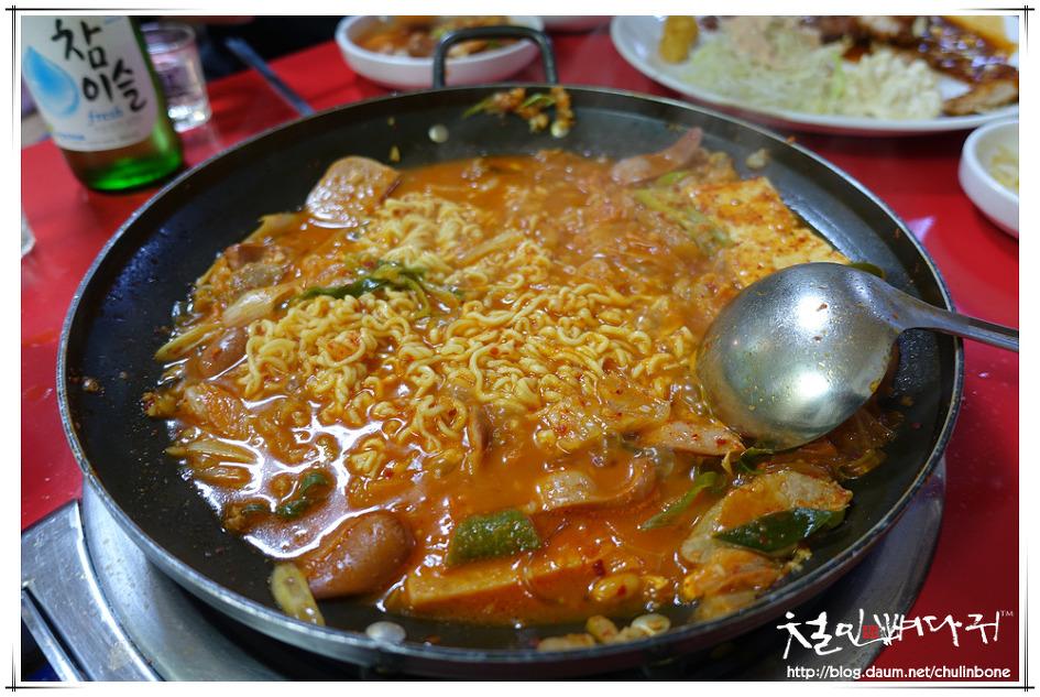 [정선식당] 어수정수제돈까스&의정부부대찌개-부대찌개(강원도.고한읍)